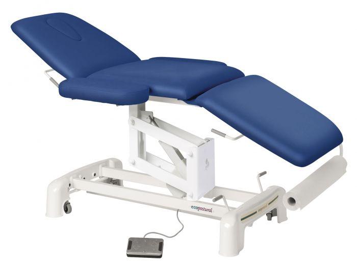 Elektrische Massageliege 3-teilig mit Armstützen Ecopostural C3516M41