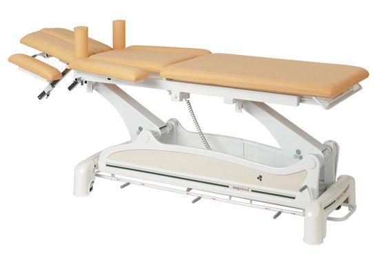 Elektrische Multifunktions-Massageliege mit peripherer Fußbedienung Ecop. Ecopostural C3532M47