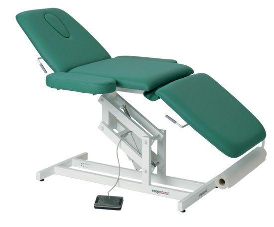 Elektrische Massageliege 3-teilig mit Armstützen Ecopostural C3589M41