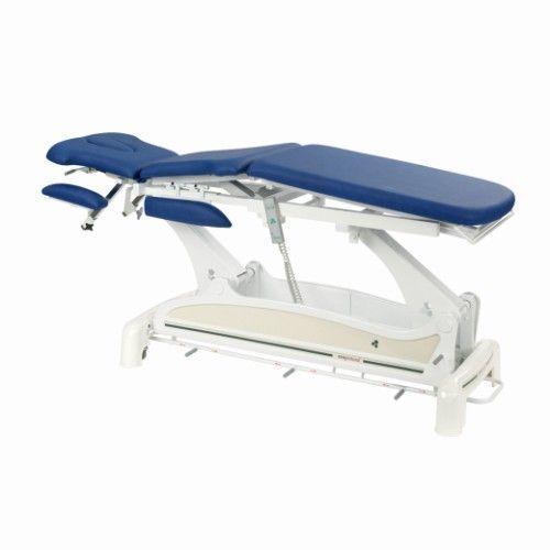 Elektrische Multifunktions-Massageliege mit Armstützen und peripherer Fußbedienung Ecopostural C3531M47