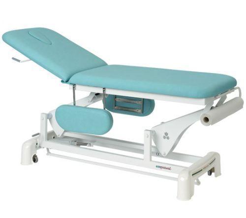 Elektrische Massageliege 2-teilig mit Armstützen Ecopostural C3554