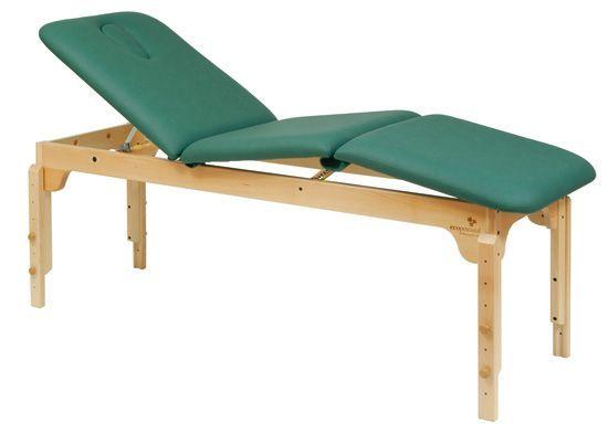 Stationäre Holz-Massageliege Ecopostural höhenverstellbar C3119