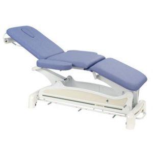 Elektrische Massageliege 3-teilig mit Armstützen und peripherer Fußbedienung Ecop. Ecopostural C3556