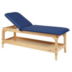Stationäre Holz-Massageliege Ecopostural höhenverstellbar C3220