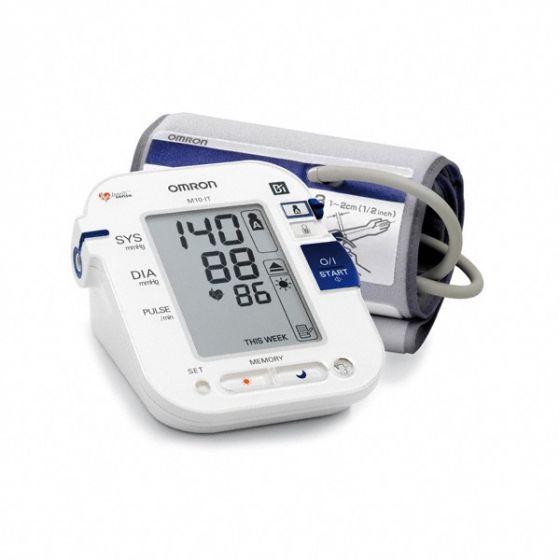 Vollautomatisches Oberarm-Blutdruckmessgerät Omron M10 IT