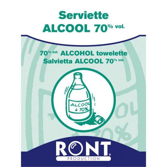 Isopropylalkohol 70% Tücher Ront 100 Stück