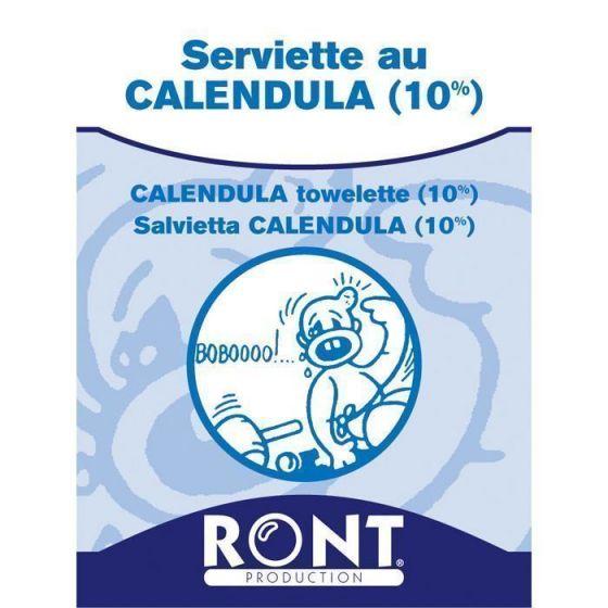 Calendula 10% Tücher Ront Box mit 100