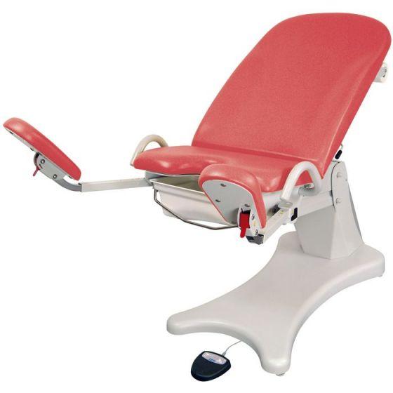 Promotal Elektrischer gynäkologischer Stuhl mit Fußstützen Elansa