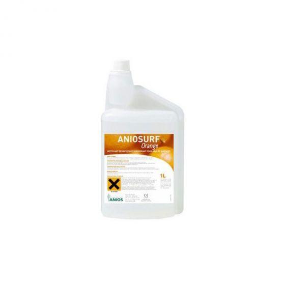 Reinigungs-Desinfektionsmittel Aniosurf Konzentrat 1L orange