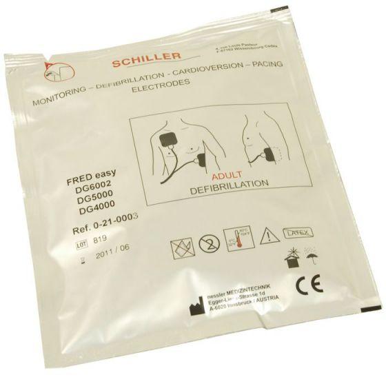 Elektroden Erwachsene für Defibrillator FRED EASY