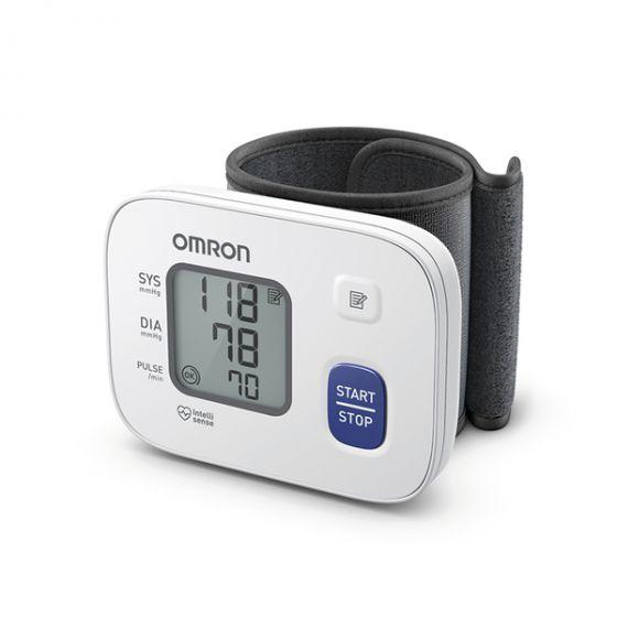 Blutdruckmessgerät Omron RS2 mit vorgeformter