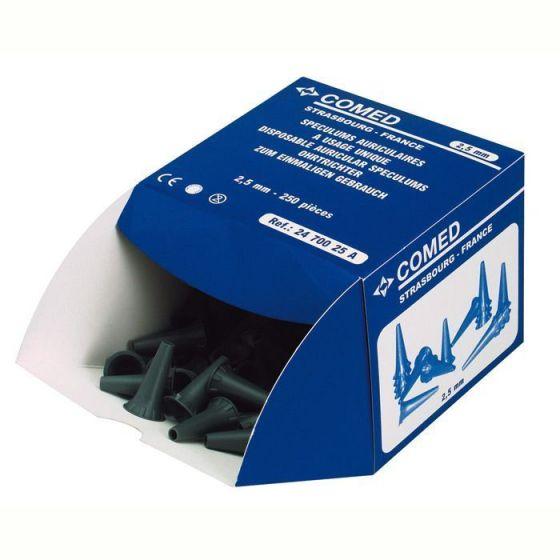 Tasche von 1000 grau Ohrtrichter 2,5 mm